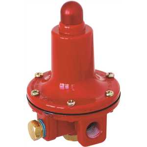 MARSHALL EXCELSIOR COMPANY MEGR-6121-40 MEC FIXED HIGH PRESSURE REGULATOR, 40 PSI, 1/4 IN. FNPT INLET AND OUTLET