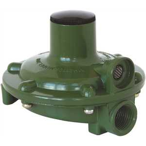 MEC MEGR-230 Single Stage Regulator 11 in. WC Vent Over Outlet 1/4 in. FNPT Inlet x 3/8 in. FNPT Outlet Replaces 23000