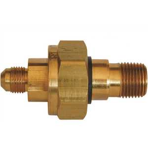 MEC ME690-4-8 Space-Saver Dielectric Union 1/2 in. MNPT x 1/2 in. Male Flare Brass