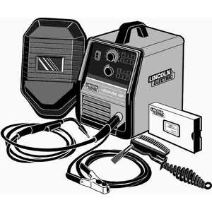 Lincoln Electric K610-1 Weld-Pak 100 Wire Feed Welder MIG Conversion Kit