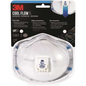 3M 8577P2-DC-PS P95 Paint Odor Valve Respirator Mask - pack of 2