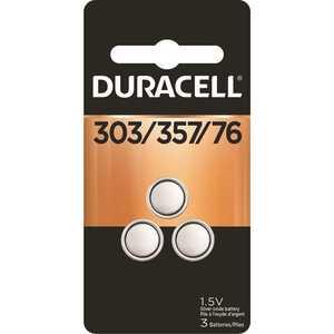 DURACELL 004133366129 303/357 Silver Oxide Button Battery