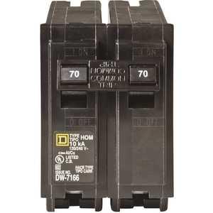Square D HOM270CP Homeline 70 Amp 2-Pole Circuit Breaker