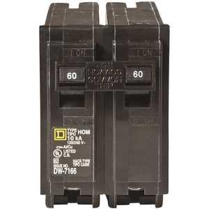 Square D HOM260CP Homeline 60 Amp 2-Pole Circuit Breaker
