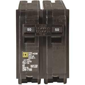 Square D HOM250CP Homeline 50 Amp 2-Pole Circuit Breaker