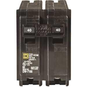 Square D HOM240CP Homeline 40 Amp 2-Pole Circuit Breaker
