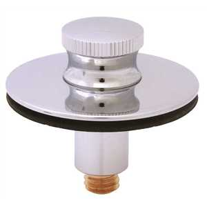 Briggs Plumbing Products P986 SAYCO Lift-And-Turn Bathtub Stopper Assembly in Chrome