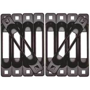 SNAP-LOC SLSB10 E-Track Single Strap Anchor in Black
