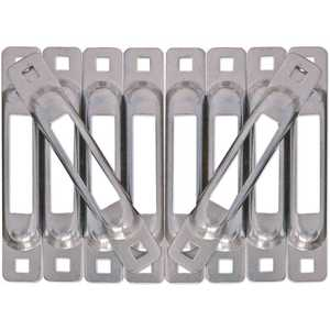 SNAP-LOC SLSZ10 E-Track Single Strap Anchor Zinc