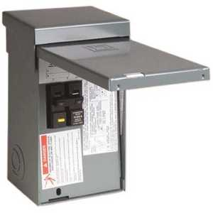 Square D HOME250SPA Homeline 50 Amp 2-Space 4-Circuit Spa Panel Main Lug Load Center