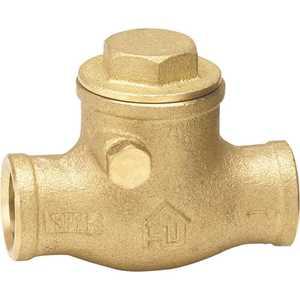 Everbilt 240-4-12-EB 1/2 in. Brass Sweat x Sweat Swing Check Valve