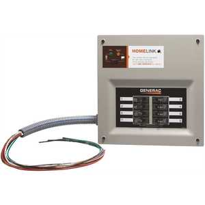 Generac 6852 Upgradeable Manual Transfer Switch for 8 Circuits