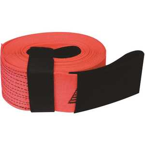SNAP-LOC SLTT430K20R 4 in. x 30 ft. x 20,000 lbs. Tow and Lifting Strap with Hook and Loop Storage Fastener in Red