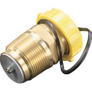 "Cavagna 66.0.290.1232 GAS FILLER VALVE 1-1/4"" MPT X 1-3/4"" MALE ACME LINE"