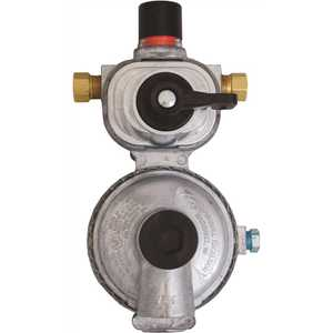 Excela-Flo MEGR-253 MEC Automatic Changeover Regulator 2-Stage 1/4 in. Inverted Flare x 3/8 in. FNPT