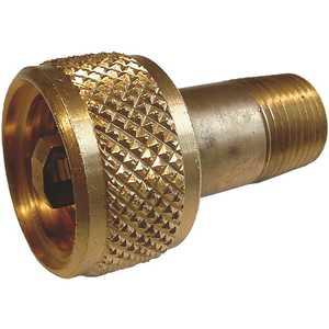 MEC ME141 Acme Vapor Coupling, Brass, 1-1/4 in. F.Acme x 1/2 in. MNPT