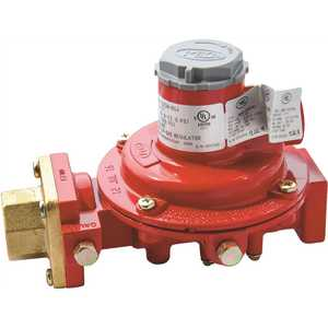 Excela-Flo MEGR-1222H-BGF F. POL Inlet x 1/2 in. FNTP Outlet, 10 psi Compact First Stage Regulator
