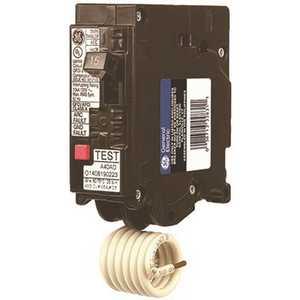 GE THQL1115DF 15 Amp 120 VAC Single-Pole Dual Function Plug-In AFCI/GFCI Circuit Breaker