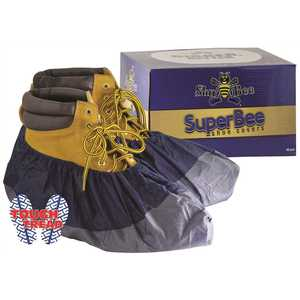SHUBEE C SB SC BEE 289 SUPERBEE SHOE COVER DARK BLUE 40PR