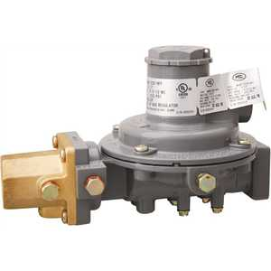 Excela-Flo MEGR-1232-HFF MEC Compact High Capacity Twin Stage Regulator F.Pol Inlet x 3/4 in. FNPT Outlet - 625,000 BTU/Hour