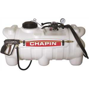 Chapin International 97500 25 Gal. 12-Volt EZ Mount Deluxe Dripless Sprayer for ATV's, UTV's and Lawn Tractors