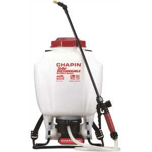 Chapin International 63924 4 Gal. Rechargeable 24-Volt Lithium-Ion Battery Powered Backpack Sprayer