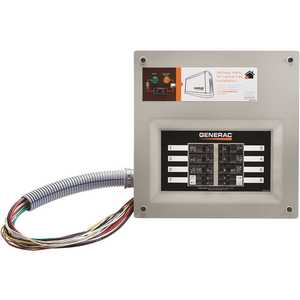 Generac 9855 Homelink 50 Amp Upgrade-Able Manual Transfer Switch Kit