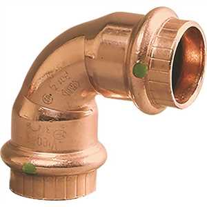 Viega 77317 1/2 in. x 1/2 in. Copper 90-Degree Elbow