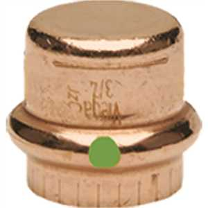 Viega 77717 ProPress 3/4 in. Copper Cap