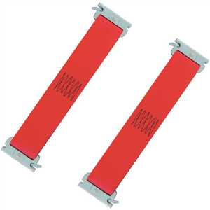 SNAP-LOC SLTE201R2 1 ft. x 2 in. Multi-Use Logistic E-Strap in Red