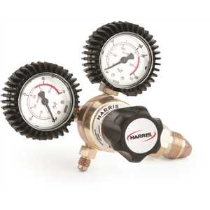 Harris 3000649 Model 601 0.25 in. HVAC Purging Regulator with Gauge