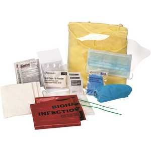 First Aid Only, Inc 91154 Bloodborne Pathogen/Bodily Fluid Spill Clean-up Kit