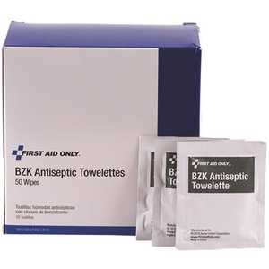 First Aid Only, Inc H307 BZK Antiseptic Towelettes - pack of 50