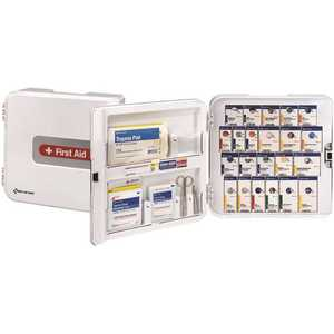 First Aid Only, Inc 91093 50-Person SmartCompliance Complete Plastic Cabinet, ANSI Compliant