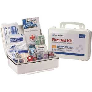 First Aid Only, Inc 90562 25-Person Bulk Plastic First Aid Kit, ANSI Compliant