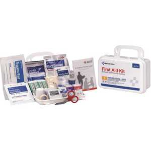 First Aid Only, Inc 90754 10-Person Bulk Plastic First Aid Kit, ANSI Compliant