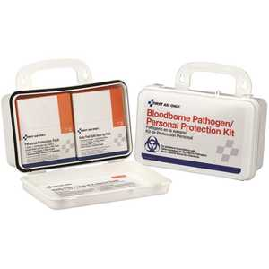 First Aid Only, Inc 3060 Bloodborne Pathogen Unitized Plastic Spill Clean Up Kit