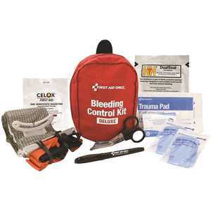 First Aid Only, Inc 91138 Deluxe Pro Bleeding Control Kit
