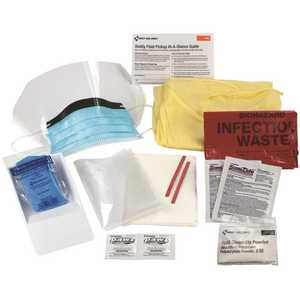 First Aid Only, Inc 214-P Bloodborne Pathogen Single Use Spill Clean Up Kit