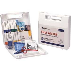First Aid Only, Inc 225-U/FAO 50-Person Bulk OSHA Plastic First Aid Kit