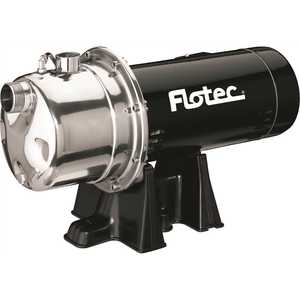Flotec FP4832-08 1 HP Stainless Steel Shallow Well Jet Pump