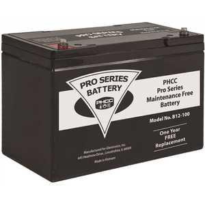 Pro Series Pumps B12-100 100 Amp Hour (Ah) Maintenance Free (AGM) Standby Sump Pump Battery