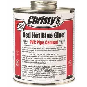 Christy's RH-RHBV-HP-36 8 fl. oz. PVC Pipe Cement