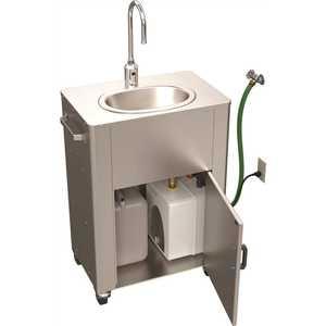 Acorn PS1040-F31 Deluxe Portable Hand-Wash Station, Elec Pump, Hose In, Tank Out, Sensor Gooseneck