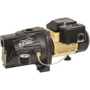 K2 WPS07502K 3/4 HP Cast Iron Shallow Well Jet Pump