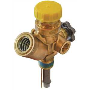 MEC MES-PVE2035AT-11.7 Multi-Service 420 lb. Dot Vapor Valve, 1 in. MNGT Inlet with 375 psi Relief and 11.7 in. Dip Tube