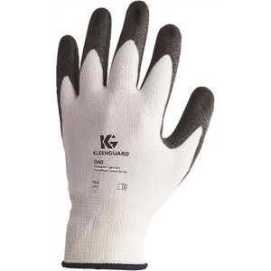 KLEENGUARD 38689 G60 Small Black and White Level 3 Economy Cut Resistant Gloves