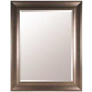 Pinnacle 16FP1798 48 in. x 38 in. Bronze Framed Beveled Mirror