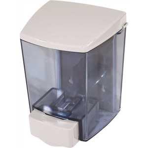 IMPACT 9330-90 880 ml. White ClearVu Encore See-Through Tank Soap Dispenser