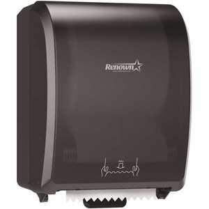 Renown REN05173-WB 8 in. Black Mechanical Paper Towel Dispenser